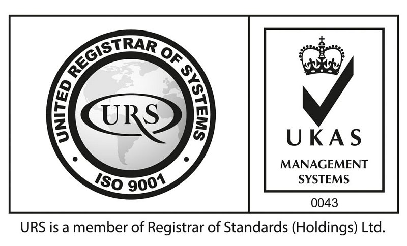 UKAS ISO9001 accredited