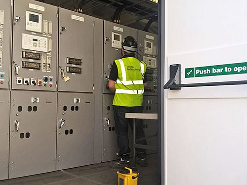 constructing the best-fit substation