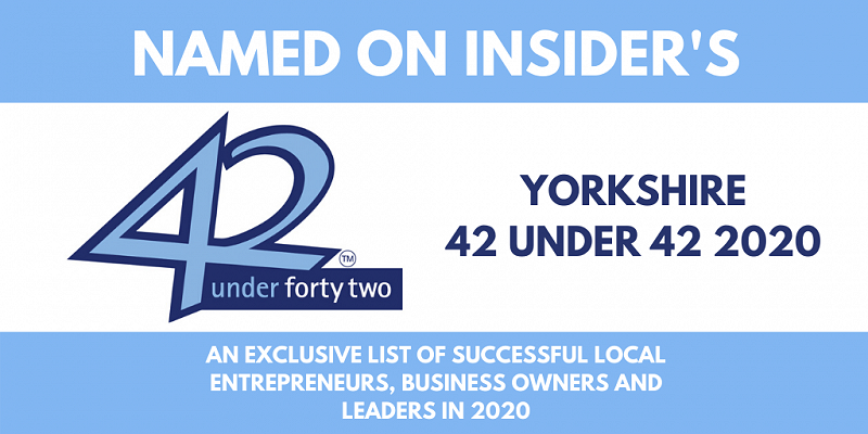 Dave Ogden named as one of Yorkshire's 42 under 42