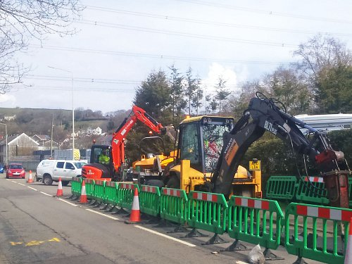 Cable laying, cable containment, jointing, civils work and reinstatement