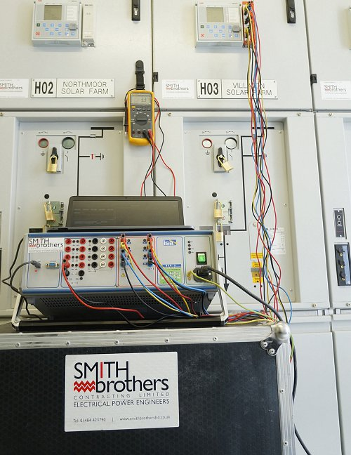 High Voltage AC pressure testing