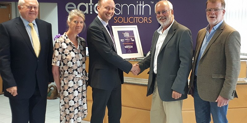 Smith Brothers wins Business of the Month Award!