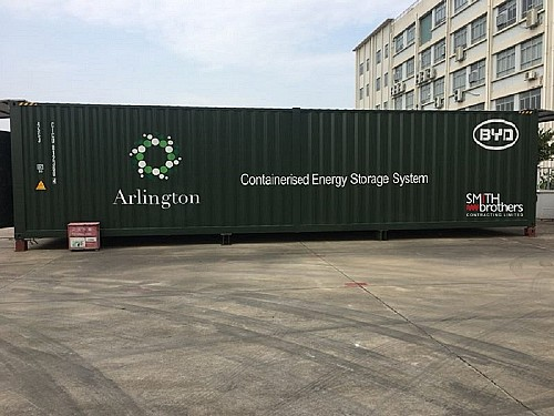 Smith Brothers begins construction on second Arlington Energy battery storage site