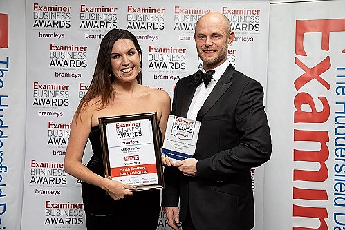 Smith Brothers scoops up gold in Huddersfield Examiner Business Awards!