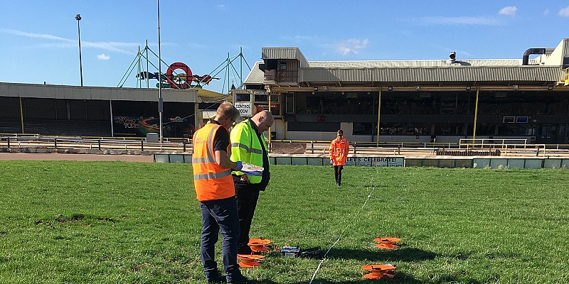 Smith Brothers races on with high-voltage upgrade works at Owlerton Greyhound Stadium