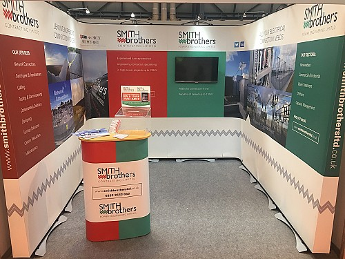 Smith Brothers stand at edie LIVE