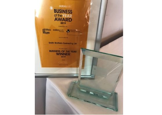 We've been named Eaton Smith's 'Business of the Year!'