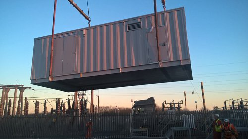 containerised sub-station delivery